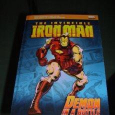 Cómics: MARVEL POCKET BOOKS IRON MAN - DEMON IN A BOTTLE. Lote 56559387
