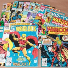 Cómics: WARLOCK INFINITY WATCH 1 2 3 4 5 6 7 8 9 10 11 12 Y VOL 3 - MARVEL COMICS 1992 - EN INGLÉS. Lote 56749837