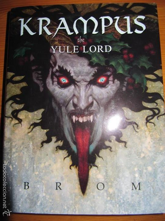 KRAMPUS - THE YULE LORD - BROM (Tebeos y Comics - Comics Lengua Extranjera - Comics USA)