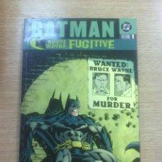 Cómics: BATMAN BRUCE WAYNE FUGITIVE TPB #1. Lote 57193272