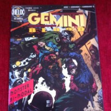 Cómics: COMICS USA - GEMINI BLOOD BY CHRIST HINZ & TOMMY LEE EDWARDS - HELIX DC COMICS. Lote 206290146