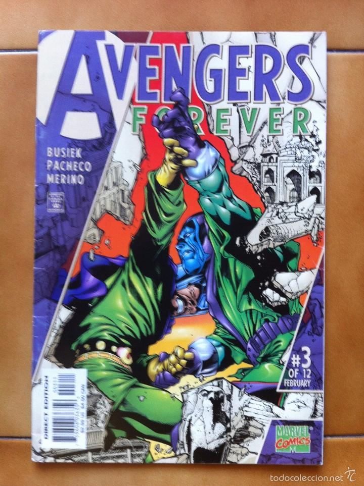 COMICS USA - AVENGERS FOREVER 3 BY KURT BUSIEK & CARLOS PACHECO - MARVEL COMICS (Tebeos y Comics - Comics Lengua Extranjera - Comics USA)
