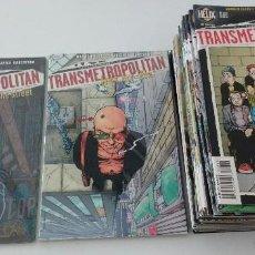 Cómics: COMPLETA - TRANSMETROPOLITAN USA - TPB # 1-2 + COMIC-BOOKS 8 A 60 (DC-HELIX-VERTIGO,1997-2002). Lote 58240824