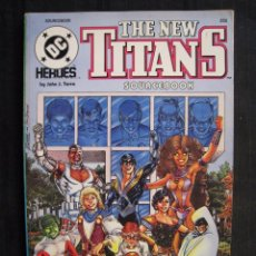 Cómics: THE NEW TITANS - SOURCEBOOK - DC COMICS - EN INGLES.. Lote 58453359