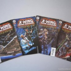 Cómics: STAR WARS: X - WING ROGUE SQUADRON: MASQUERADE # 1 AL # 4. EDICIÓN DARK HORSE (U.S.A.). Lote 241002635