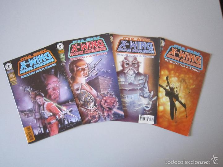 STAR WARS: X - WING ROGUE SQUADRON: REQUIEM FOR A ROGUE # 1 AL # 4. DARK HORSE (U.S.A) (Tebeos y Comics - Comics Lengua Extranjera - Comics USA)
