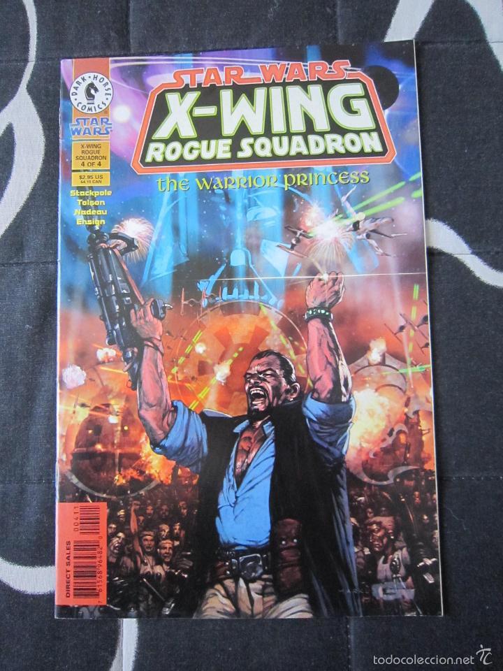 STAR WARS: X - WING ROGUE SQUADRON: THE WARRIOR PRINCESS # 4. DARK HORSE (U.S.A) (Tebeos y Comics - Comics Lengua Extranjera - Comics USA)