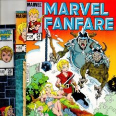 Cómics: MARVEL FANFARE 24 25 26 WEIRDWORLD - MARVEL 1986 - VFN/NM. Lote 59511019