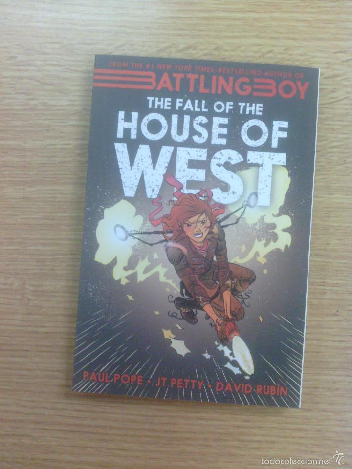 BATTLING BOY THE FALL OF THE HOUSE OF WEST (Tebeos y Comics - Comics Lengua Extranjera - Comics USA)