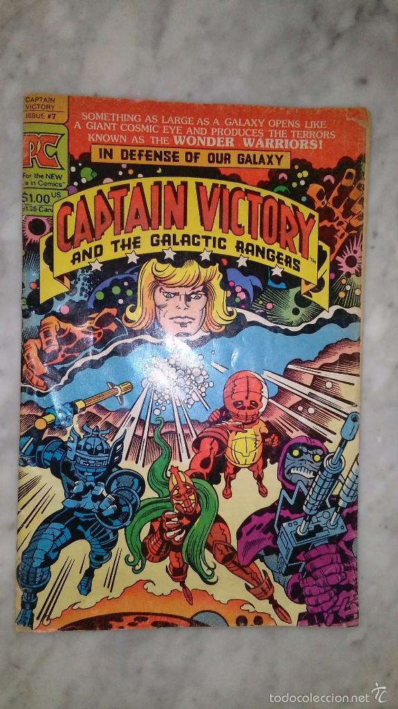CAPTAIN VICTORY #7 (Tebeos y Comics - Comics Lengua Extranjera - Comics USA)