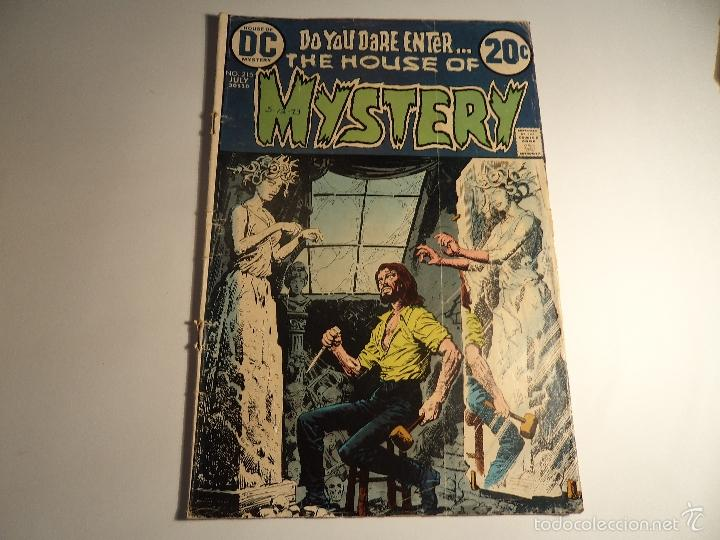 HOUSE OF MYSTERY. Nº 215. DC. (Z-17) (Tebeos y Comics - Comics Lengua Extranjera - Comics USA)
