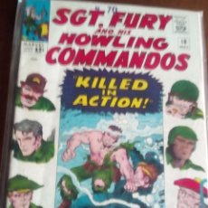Cómics: SGT.FURY AND HIS HOWLING COMMANDOS N-18 USA. Lote 61633644