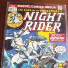 Cómics: NIGHT RIDER N-3 AL 6 USA AÑO 1974 LEER DESCRIPCCION. Lote 61647620