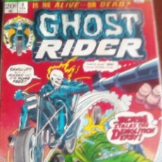 Cómics: GHOST RIDER N-4 USA DIFICIL. Lote 61648660
