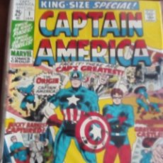 Cómics: CAPTAIN AMERICA KING SIZE VOL.1 N-1 AÑO 1971 USA L4P5. Lote 62296832