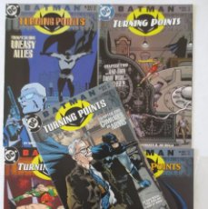 Cómics: BATMAN TURNING POINTS COMPLETA INGLES. Lote 62631656