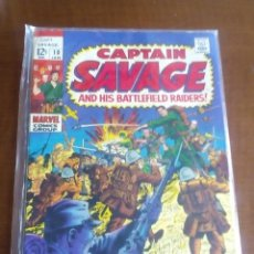 Comics : CAPTAIN SAVAGE N-10 USA AÑO 1969 L4P5. Lote 63093744