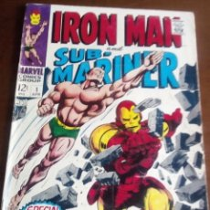 Cómics: IRON MAN AND SUBMARINER N-1 UNICO NO SALIERON MAS NUMEROS USA AÑO 1967 L4P5. Lote 63104424