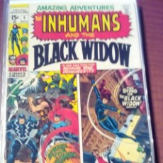 Cómics: AMAZING AVENTURES THE INHUMANS AND THE BLACK WIDOW N 1 AL 10 USA COMPLETA AÑO 1970 L4P3. Lote 63165340