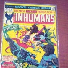 Cómics: THE INHUMANS N-1 AL 12 USA COMPLETA AÑO 1976 L4P3. Lote 63166592