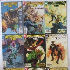 Cómics: HAWKMAN INGLES. Lote 63394868