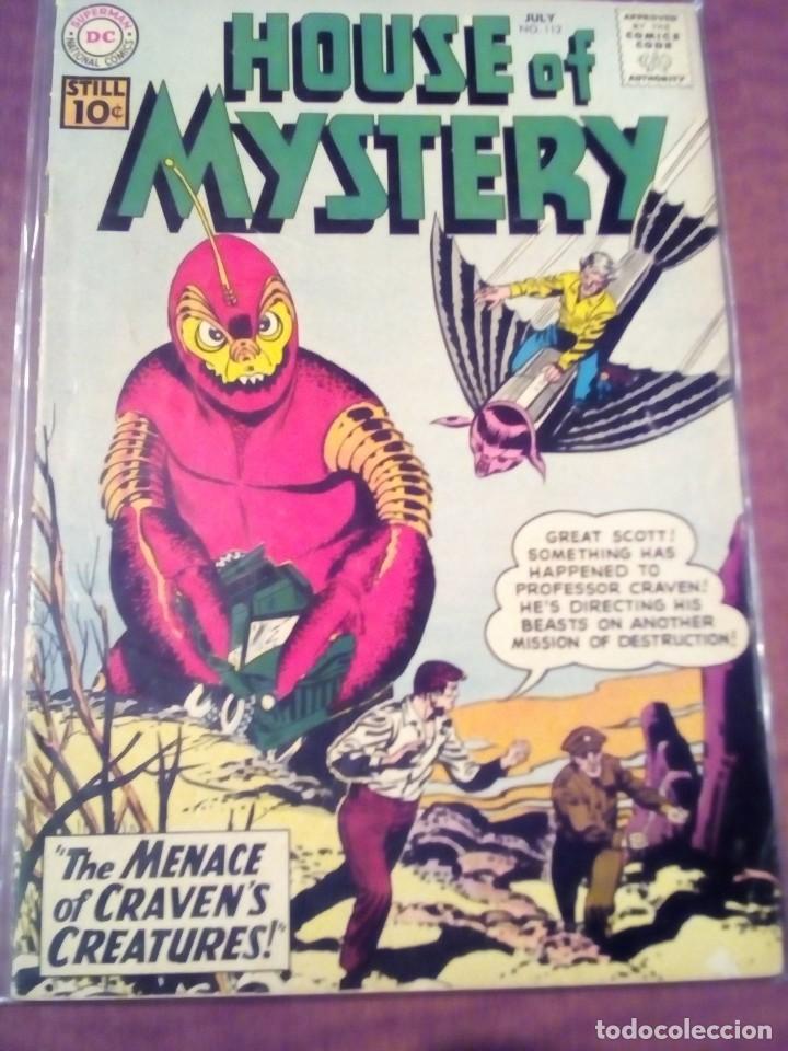 HOUSE OF MYSTERY N-112 USA AÑO 1961 L4P5 (Tebeos y Comics - Comics Lengua Extranjera - Comics USA)