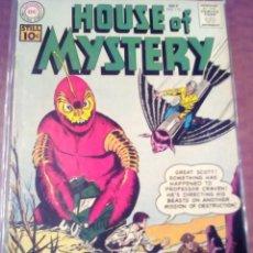 Cómics: HOUSE OF MYSTERY N-112 USA AÑO 1961 L4P5. Lote 63629367
