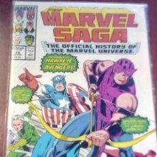 Cómics: MARVEL SAGA N-19 USA L4P5. Lote 63640555
