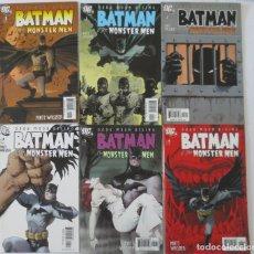 Cómics: BATMAN THE MONSTER MEN COMPLETA. Lote 63971191