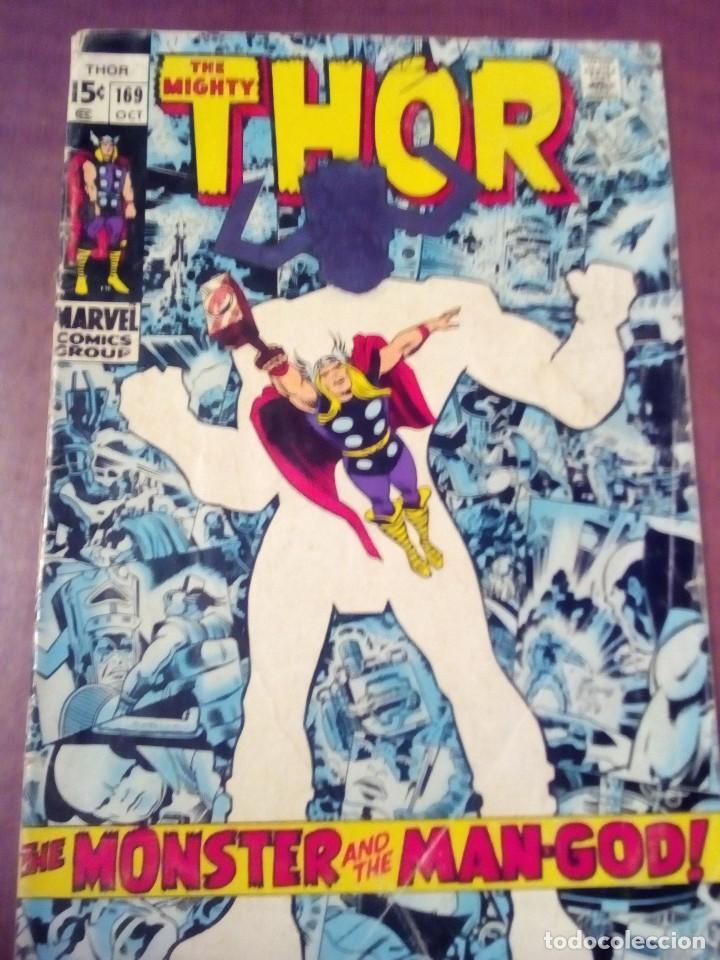 THOR N 169 USA LEER DESCRIPCION L4P3 (Tebeos y Comics - Comics Lengua Extranjera - Comics USA)
