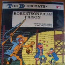 Cómics: THE BLUE COATS #1 ROBERTSONVILLE PRISON (CINEBOOK, 2008). Lote 65851462
