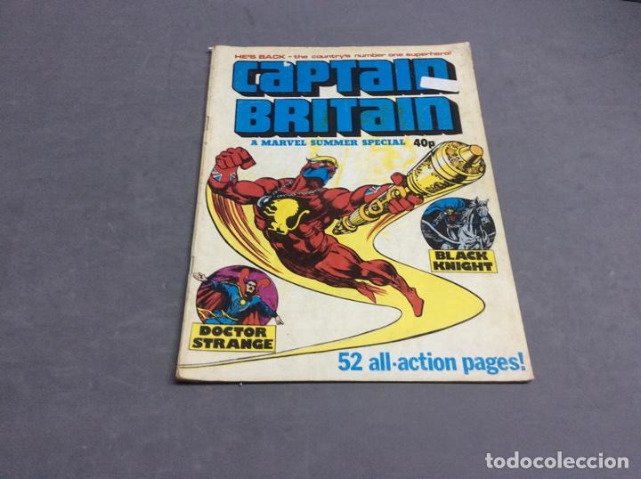 CAPTAIN BRITAIN SUMMER SPECIAL (Tebeos y Comics - Comics Lengua Extranjera - Comics USA)