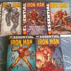 Cómics: PACK ESSENTIAL IRON MAN 1 AL 5. Lote 67113945