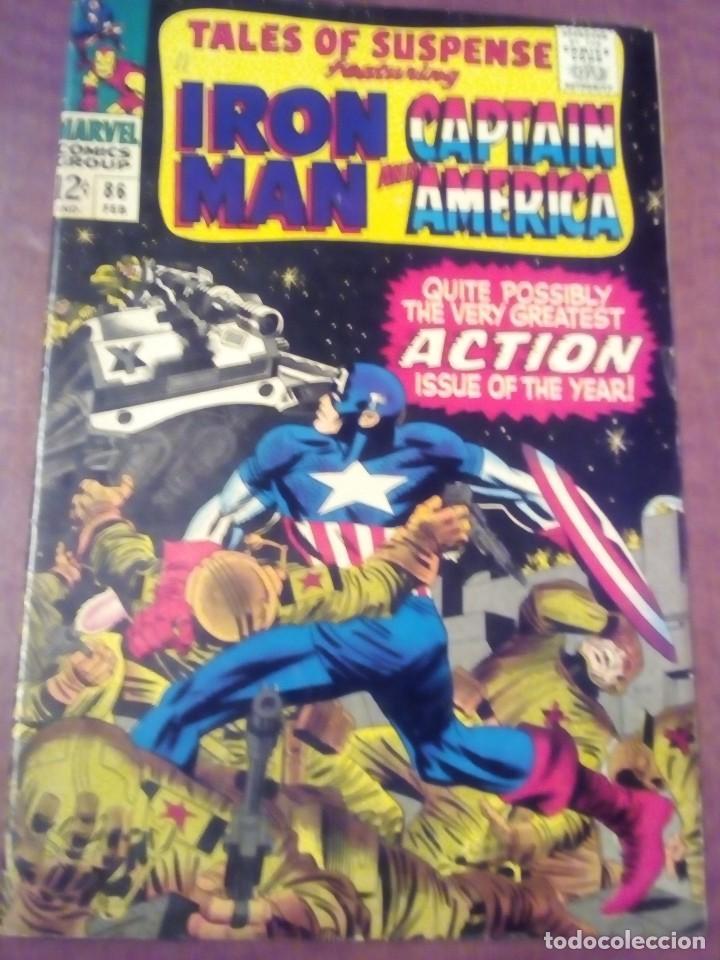TALES OF SUSPENSE N 86 USA AÑO 1967 L4P3 (Tebeos y Comics - Comics Lengua Extranjera - Comics USA)