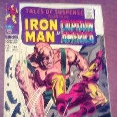Cómics: TALES OF SUSPENSE N 91 USA AÑO 1967 L4P3. Lote 67175149