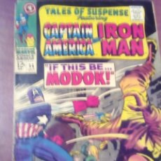 Cómics: TALES OF SUSPENSE N 94 USA AÑO 1967 VER FOTOS PRECIO ACORDE AL ESTADO PRIMERA APARICION DE MODOK. Lote 67176817