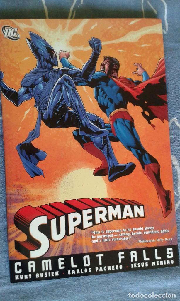 SUPERMAN: CAMELOT FALLS, KURT BUSIEK - CARLOS PACHECO - JESUS MERINO, TAPA DURA, DC COMICS (Tebeos y Comics - Comics Lengua Extranjera - Comics USA)