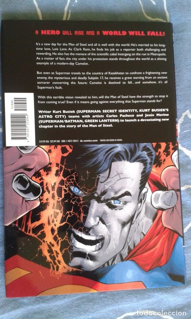 Cómics: Superman: Camelot Falls, Kurt Busiek - Carlos Pacheco - Jesus Merino, Tapa Dura, DC Comics - Foto 2 - 67387505