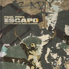 Cómics: PAUL POPE - ESCAPO HC (Z2 COMICS,2016) - EDICION EN COLOR Y TAPA DURA. Lote 68049161