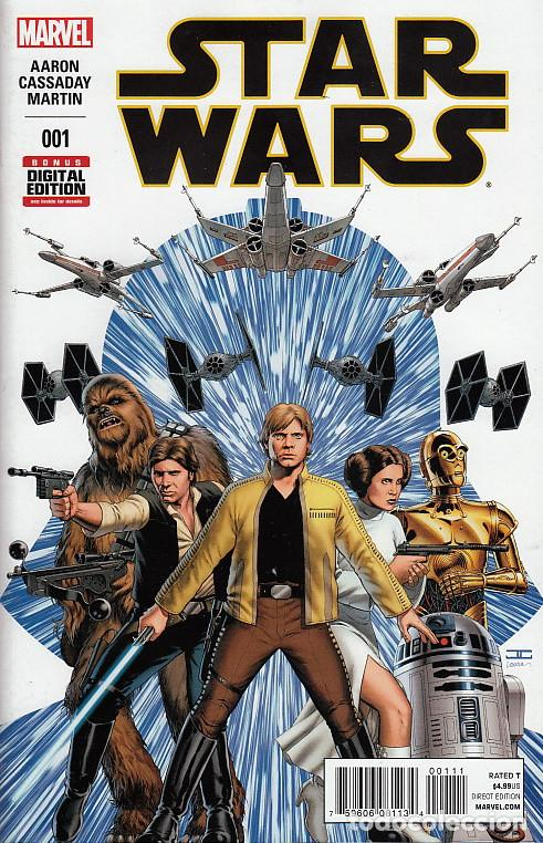 Cómics: STAR WARS # 1 (MARVEL,2015) - JOHN CASSADAY - 1ST PRINTING - Foto 1 - 69296197