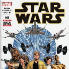Cómics: STAR WARS # 1 (MARVEL,2015) - JOHN CASSADAY - 1ST PRINTING. Lote 69296197