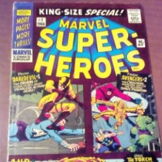 Cómics: MARVEL SUPER-HEROES KING SIZE SPECIAL N 1 USA AÑO 1966 COMPLETO DIFICIL . Lote 70106253
