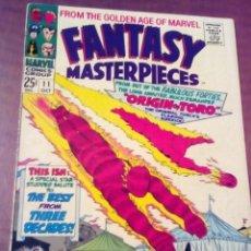 Cómics: FANTASY MASTERPIECES N 11 USA AÑO 1967 ULTIMO NUMERO . Lote 70111521