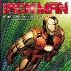 Cómics: IRON MAN BY MICHELINIE, LAYTON & ROMITA JR. OMNIBUS. Lote 70215301
