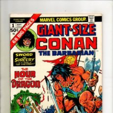 Cómics: CONAN THE BARBARIAN GIANT SIZE 1 - MARVEL 1974 - VFN- 7.5. Lote 70370933