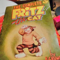Cómics: THE COMPLETE FRITZ THE CAT BY ROBERT CRUMB - EDICIÓN AMERICANA 1978. Lote 71420625