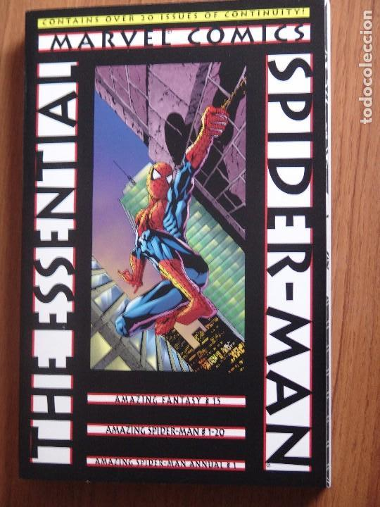 ESSENTIAL SPIDER-MAN VOL.1 DE MARVEL COMICS ORIGINAL USA MAS DE 500 PAG (Tebeos y Comics - Comics Lengua Extranjera - Comics USA)