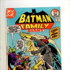 Cómics: BATMAN FAMILY 10 - DC 1977 VFN PLUS 8.5 - BATGIRL / RETURN ORIGINAL BATWOMAN. Lote 74682999