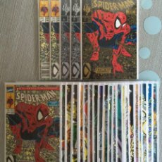 Cómics: SPIDERMAN #1-20, #22 & #23 + 5 COPIAS DEL #1 (STANDARD-GOLD-SILVER) 3 BAGGED. USA. MCFARLANE.. Lote 75718663