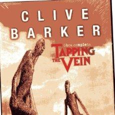 Cómics: TAPPING THE VEIN. OBRA COMPLETA. VOLS. 1 Y 2. CLIVE BARKER. EDITORIAL: KRAKEN, MADRID (2014), 1ªEDIC. Lote 75865643